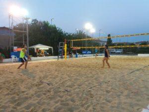 """Entra nel vivo la quinta edizione del """"Beach Volley Bacu Abis""""."""