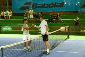 Grande attesa, a Porto Cervo, per le quattro superstar del tennis che si sfideranno questo fine settimana nella terza edizione del Porto Cervo Star Tennis Classic.