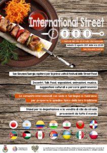 Il centro di San Giovanni Suergiu questa sera si animerà con la prima edizione dell'International Street Food.
