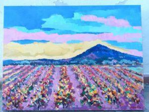 Verrà inaugurata domenica a Neoneli (OR) la mostra del pittore toscano Marcello Bertini.