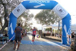 Massimiliano Nocco ed Elsa Farris hanno vinto la sesta edizione della Perdaxius Corre.