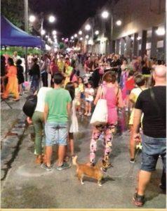 Paola Massidda (sindaco di Carbonia): «Il bilancio di Nottinsieme 2017 è molto positivo».