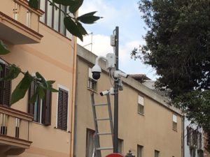 Prende il via il progetto di videosorveglianza nei punti nevralgici del centro di Sant'Antioco.