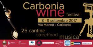 """Venerdì 8 e sabato 9 settembre è in programma la prima edizione del """"Carbonia Wine Festival""""."""