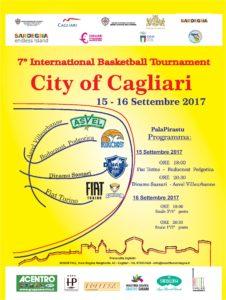 Venerdì e sabato grande basket a Cagliari, con la Dinamo, la Fiat Torino, il Podgorica ed il Villeurbanne.