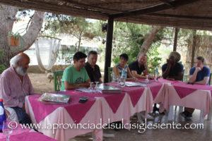Sono state presentate questa mattina, nei locali del ristorante La Peschiera, a Porto Pino, le nuove produzioni discografiche dell'Associazione Culturale Punta Giara.