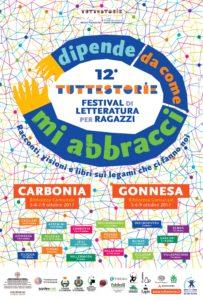 """Dal 5 al 9 ottobre Carbonia ospiterà il Festival """"Tuttestorie 2017""""."""
