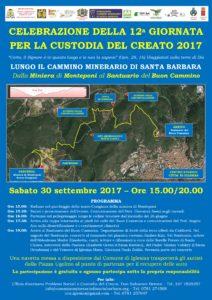 Anche il comune di Carbonia partecipa alla celebrazione della 12ª Giornata per la Custodia del Creato 2017.