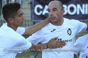 Carloforte – Carbonia finisce 1 a 1 (reti di Lazzaro e Concas), il Carbonia negli ottavi di Coppa Italia affronterà l'Arbus.