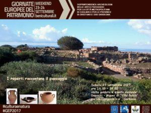 La Città di Carbonia sabato 23 settembre partecipa alle Giornate Europee del Patrimonio 2017.