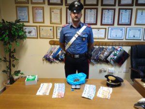 I carabinieri della stazione di Tratalias hanno denunciato in stato di libertà un 25enne del posto, per detenzione ai fini di spaccio, di sostanze stupefacenti.