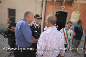 Il consigliere regionale Gianluigi Rubiu (UDC) ha partecipato alla manifestazione dei sindaci sul degrado della viabilità nel territorio.