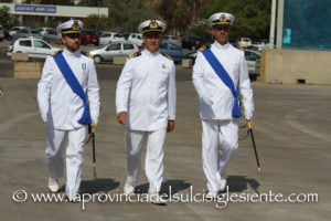 Si è svolto questa mattina il passaggio di consegne al comando della Guardia Costiera di Portoscuso.