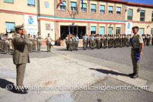Si è svolta questa mattina, a Teulada, la cerimonia del 81° anniversario della costituzione del 1° Reggimento Corazzato.