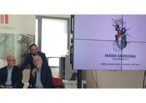 """E' stato presentato a Cagliari l'evento """"Mama Sardigna, Artistas pro sa Terra"""", in programma venerdì 15 settembre."""