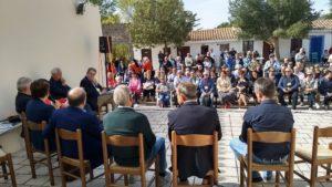Grande successo a Mamoiada dell'incontro della Federazione delle associazioni sarde in Italia con alcuniautorevoli esponenti dellacultura sarda.