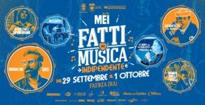 Al Mei di Faenza, il 30 settembre, il Premio dei Premi con i vincitori dei concorsi di canzoni d'autore.