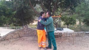 Gli ex lavoratori ex Ati-Ifras sono scesi dal Duomo di Sassari e stamane si sono recati in miniera ad Olmedo dai minatori.