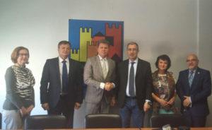 Martedì mattina la delegazione del comune di Bobruisk, accompagnata dal console onorario Giuseppe Carboni,è stata accolta presso la sede dell'Anci Sardegna.