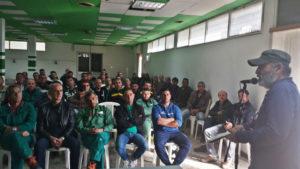 I lavoratori Eurallumina rilanciano la mobilitazione a sostegno del progetto di rilancio produttivo.