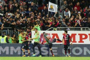 Il Cagliari è tornato alla vittoria contro il Benevento, dopo cinque sconfitte consecutive, con il goal decisivo di Leonardo Pavoletti al 95′.
