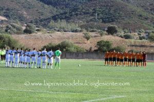 Nel turno infrasettimanale del campionato di Promozione, spicca il derby Carloforte-Carbonia.
