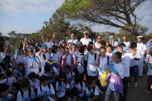 """""""Green Days 2017"""": 200 bambini di La Maddalena impegnati nelle pulizie di fine stagione."""