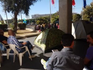 Geoparco, niente accordo con Regione, gli ex lavoratori Ati Ifras proseguono i sit-in a Cagliari e Sassari.