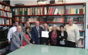 """A Pavia, presso il Circolo """"Logudoro"""", grande festa e riconoscimenti a Filippo Soggiu, per il suo 90° compleanno."""