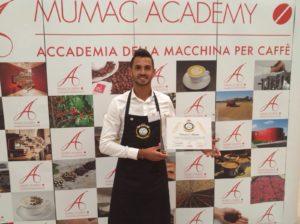 AltoGusto porta un barista bosano, Francesco Masala, 29 anni, alle finali internazionali Espresso Italiano Champion 2017.