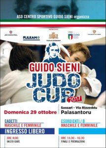 """Verrà presentata martedì 24 ottobre, a Sassari, la 3ª edizione della """"Guido Sieni judo Cup""""."""