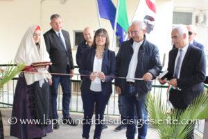 E' stata inaugurata questa mattina la nuova sede territoriale dell'Agenzia Forestas, nei locali dell'ex ospedale F.lli Crobu di Iglesias.