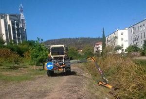 Sono iniziati questa mattina i lavori di pulizia e manutenzione del letto dei corsi d'acqua che insistono sul territorio comunale di Carbonia.