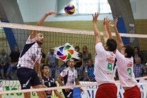 Netta sconfitta per la VBA/Olimpia Sant'Antioco, sul campo dell'Istituto Estetico It.Sab. Latina: 3 a 0 (25 a 19, 25 a 20, 25 a 18).