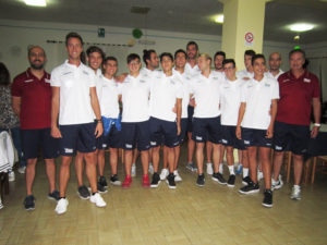 La Vba/Olimpia Sant'Antioco è pronta per il campionato di serie B di volley che inizierà il 14 ottobre.