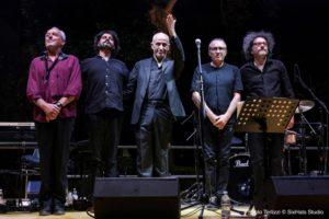 Gli Avion Travel insieme per Fausto Mesolella al Premio Bianca d'Aponte.