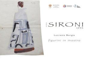 """Sar inaugurata questa sera, alle 18.00, nella sede della Fondazione di Sardegna, a Sassari, la mostra """"Sironi 1933 – I figurini per Lucrezia Borgia""""."""