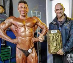 Fabio Ania, 35 anni, di Sant'Antioco, è il nuovo vice campione del mondo di body building.