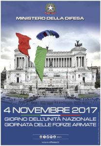 """Domani, 4 novembre, La Sardegna commemora il """"Giorno dell'Unità Nazionale Giornata delle Forze Armate""""."""