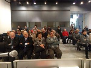 """A Genova grande partecipazione all'incontro su Antonio Gramsci, organizzato dal Circolo """"Sarda Tellus"""" presso il Museo Sant'Agostino."""