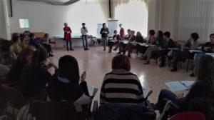 A Sassari formatori Aou e Asslinsegnano tecniche di counselling agli operatori delle due aziende.