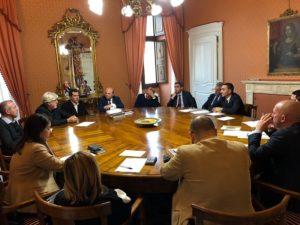 A Palazzo Ducale, a Sassari, il sindaco e la Giunta comunale hanno incontrato i manager Ats e Aou.