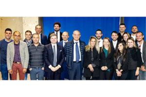 L'assessore degli Enti locali, Cristiano Erriu, ha incontrato i giovani dell'Anci per parlare di riordino ed urbanistica.