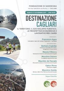 """Sabato mattina la sala convegni della Fondazione di Sardegna, a Cagliari, ospiterà il convegno """"Destinazione Cagliari""""."""