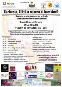 Mercoledì mattina la sala riunioni della Torre Civica, a Carbonia, ospiterà una tavola rotonda sul tema della sicurezza dei bambini in auto.