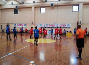 Domani, venerdì 10 novembre, il Campionato regionale Csen di Football integrato fa tappa a Carbonia.