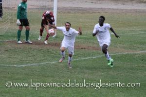 Il Carbonia batte l'Arbus anche in campionato con un goal di Lintas, il Carloforte passeggia a Gonnosfanadiga, vincendo per  4 a 1.