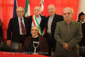 Si è svolta stamane la cerimonia per il 60° anniversario dell'istituzione del comune di Nuxis.
