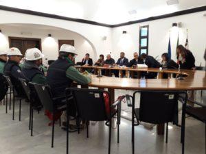 I lavoratori dell'Eurallumina sono tornati in piazza, a Cagliari, per denunciare i tempi infiniti del procedimentoautorizzativo per la ripresa produttiva.