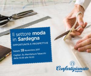 """A Cagliari, sabato 18 novembre, gli """"stati generali"""" delle imprese della moda della Sardegna."""